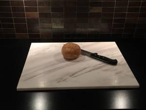 Bilde av Bakeplate/skjærebrett i Ariston marmor, 60*50
